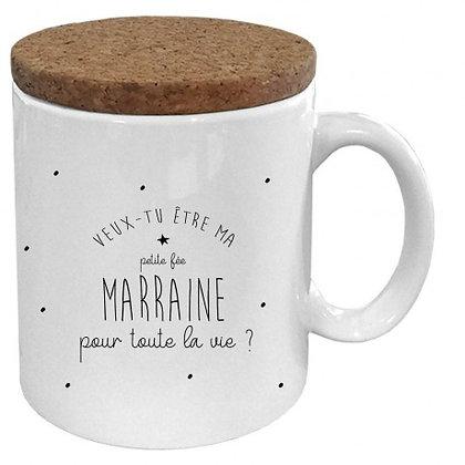 Mug Marraine pour la vie