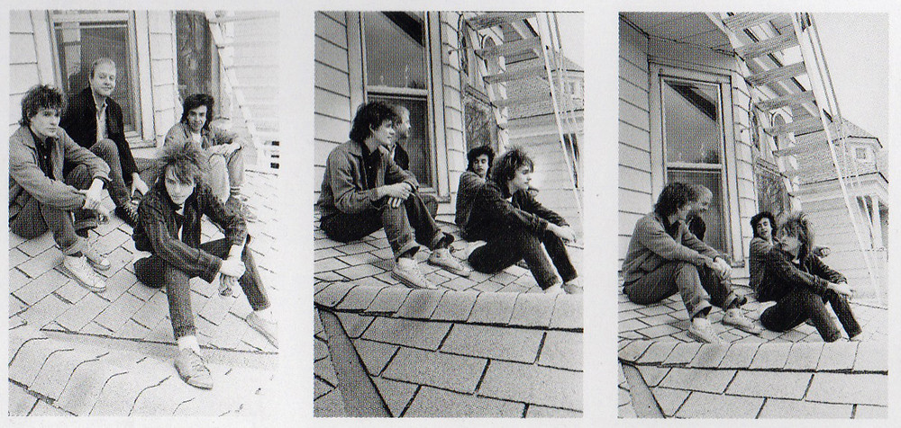 Outtakes from The Replacements Let It Be album cover session shot by Daniel Corrigan.