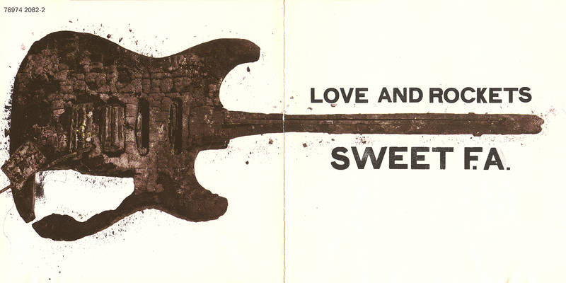 Cover art for Love and Rockets - Sweet F.A.