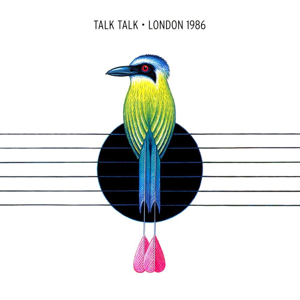 Talk Talk ‎– London 1986 (Pond Life, 1999). Cover art by James Marsh.