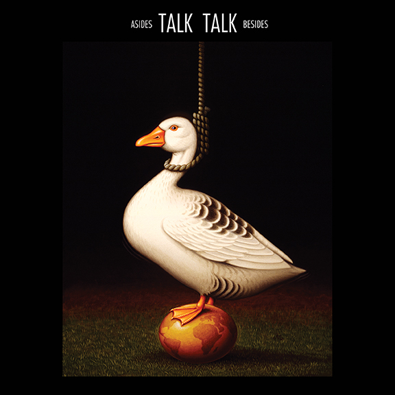 Talk Talk ‎– Asides Bsides (EMI, 1998). Cover art by James Marsh.
