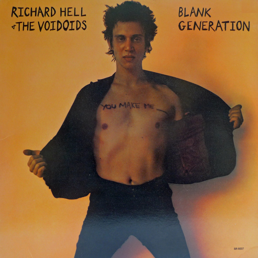 Original Blank Generation Cover (1977, Sire)