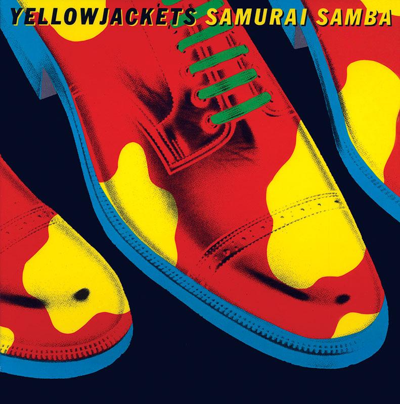 Yellowjackets - Samurai Samba (Warner Bros., 1985). Cover art by Lou Beach.