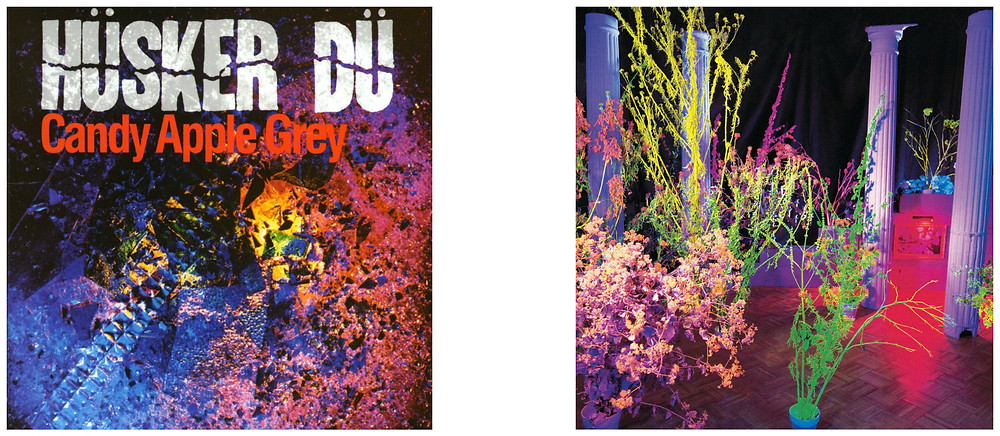 Hüsker Dü - Candy Apple Grey and Warehouse: Songs and Stories. Cover photos by Daniel Corrigan.