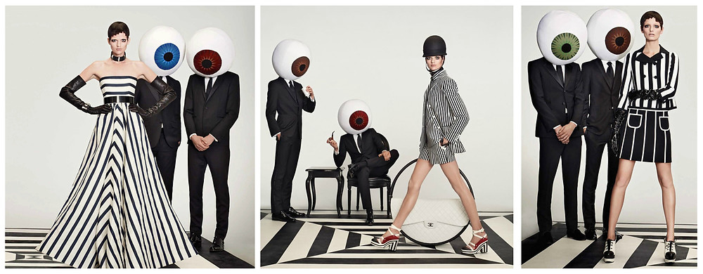Optical Allusions by Roe Ethridge for W Magazine.