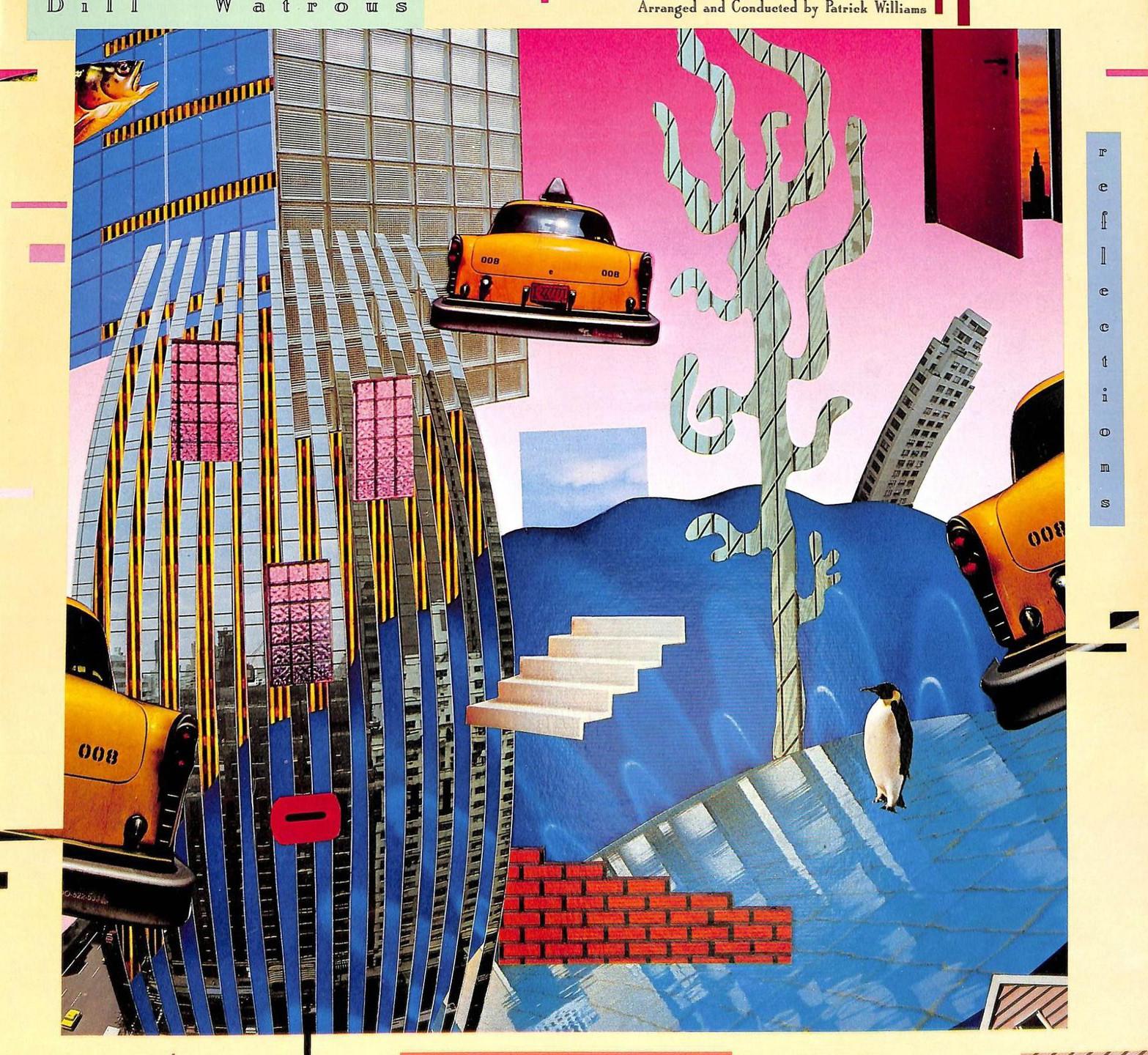 Bill Watrous - Reflections (Soundwings, 1987). Cover art by Lou Beach.