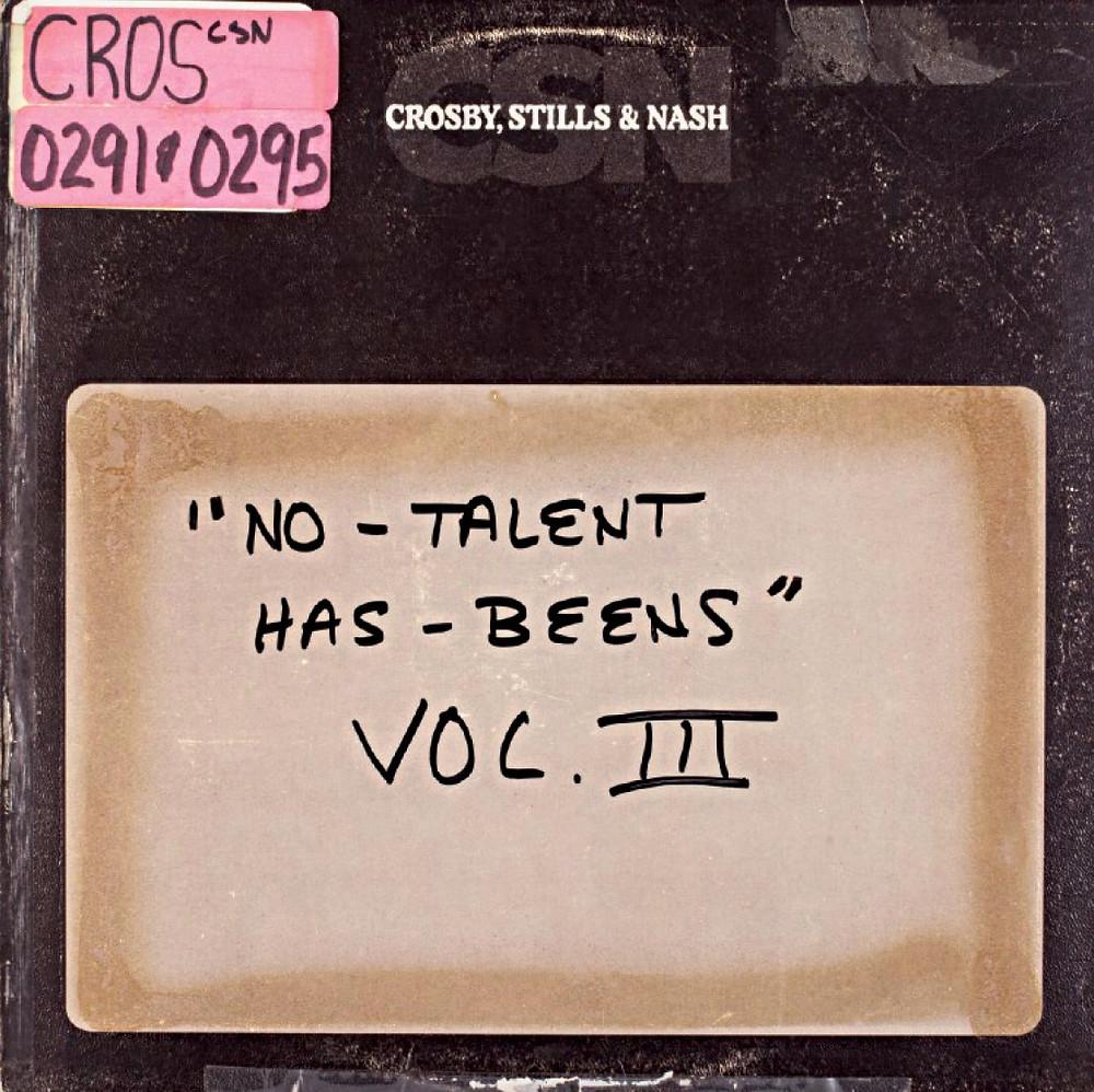 """""""No-Talent Has-Beens"""" Vol. III"""