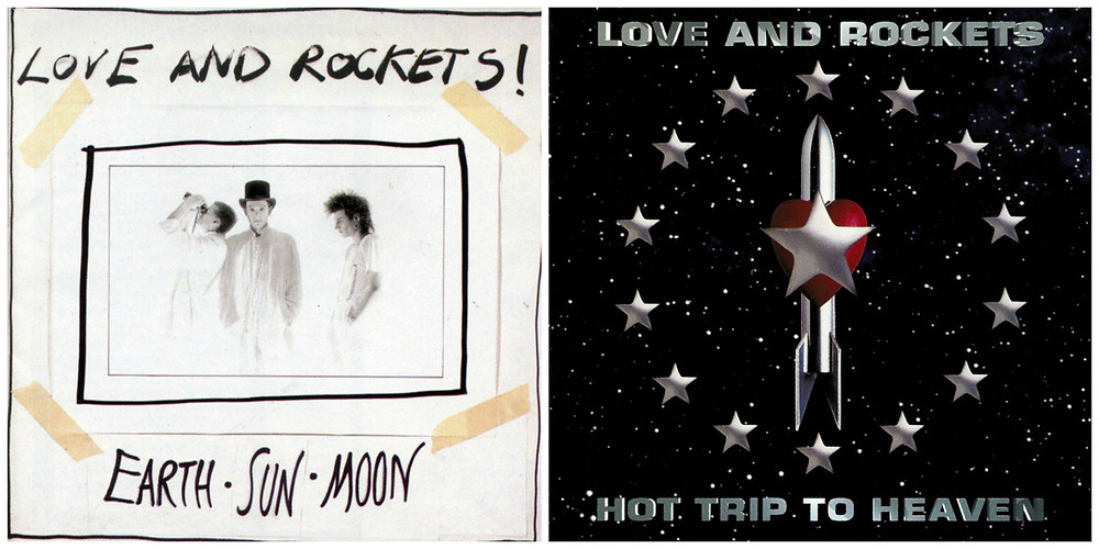 Cover art for Love and Rockets - Earth, Sun Moon and Hot Trip to Heaven.