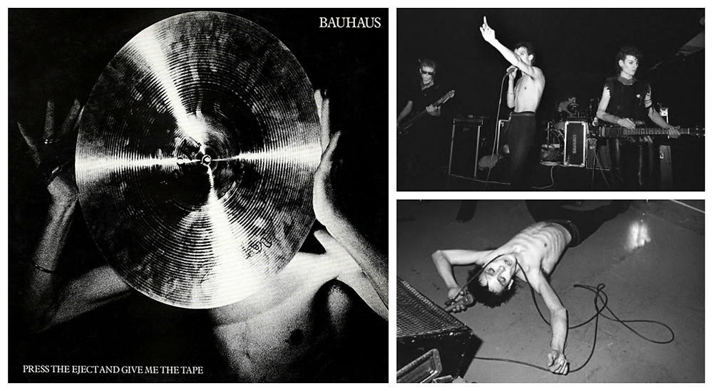 Cover art for Bauhaus - Press the Eject and Give Me The Tape.