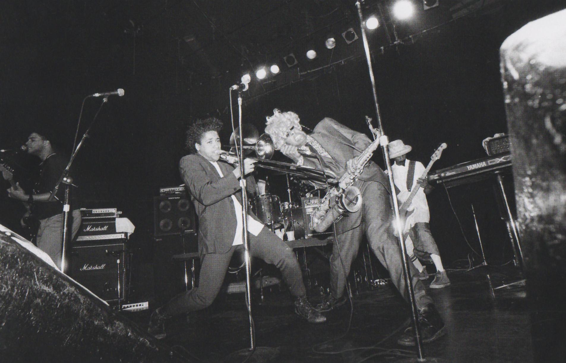 Fishbone at First Avenue, 1986. Photo by Daniel Corrigan.