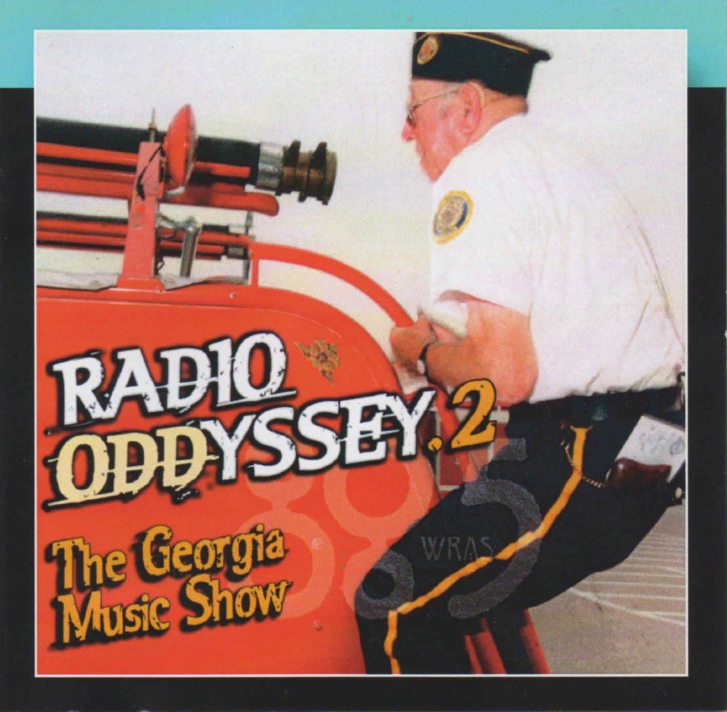Photo of 89-year-old firefighter in Galesburg featured on WRAS's Georgia Music Show compilation, Radio Odyssey 2 (Ichiban Records, 2006)