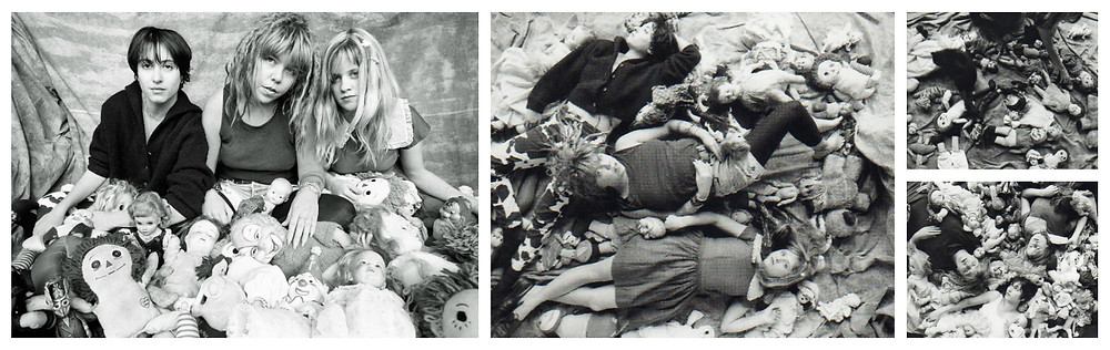 Babes in Toyland Spanking Machine promo photo and outtakes shot by Daniel Corrigan.