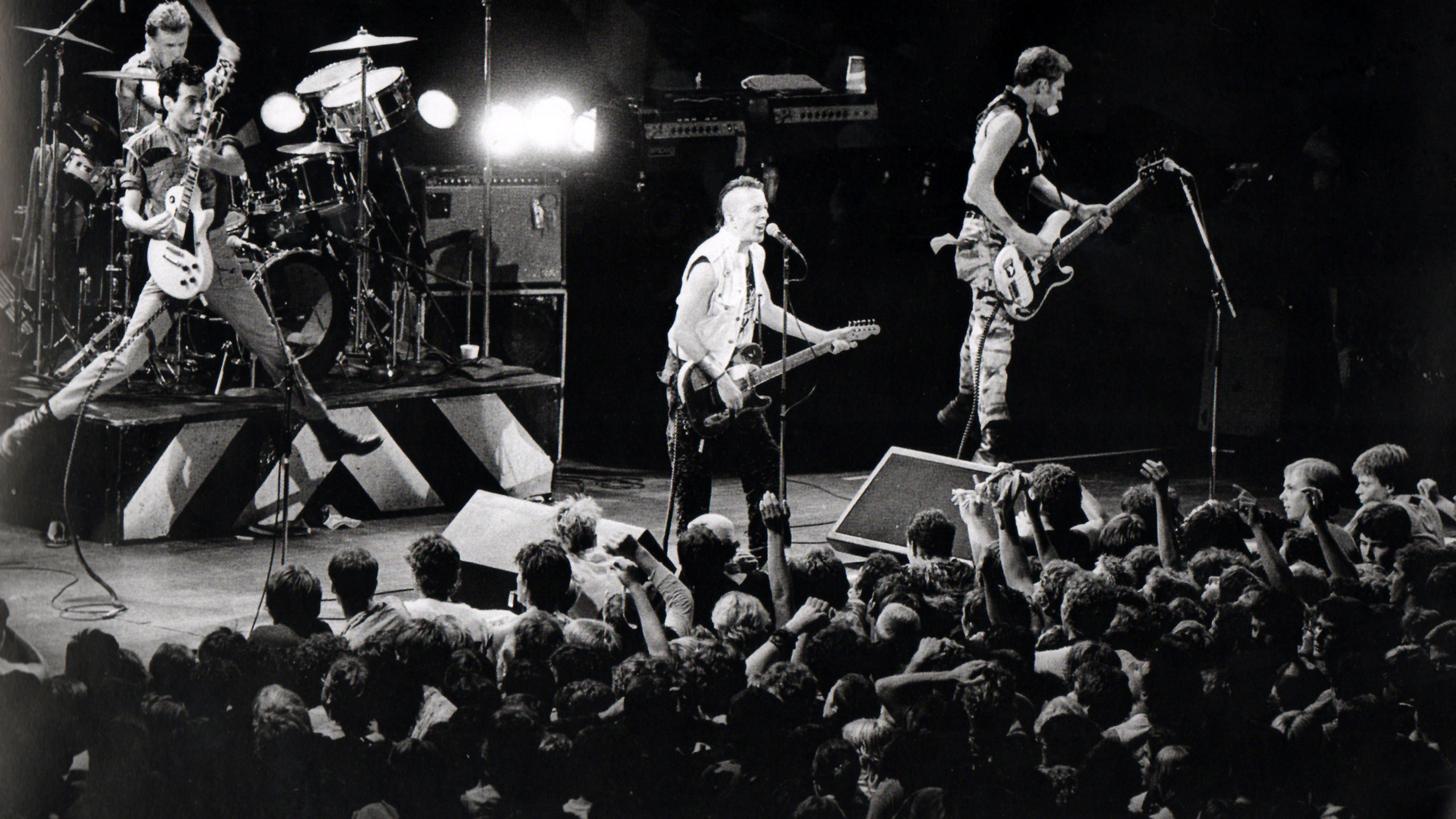 The Clash at St. Paul Civic Center, 1982. Photo by Daniel Corrigan.