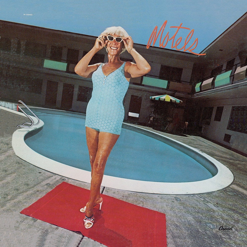 The Motels - Motels (Capitol, 1979). Photography by Elliot Gilbert.