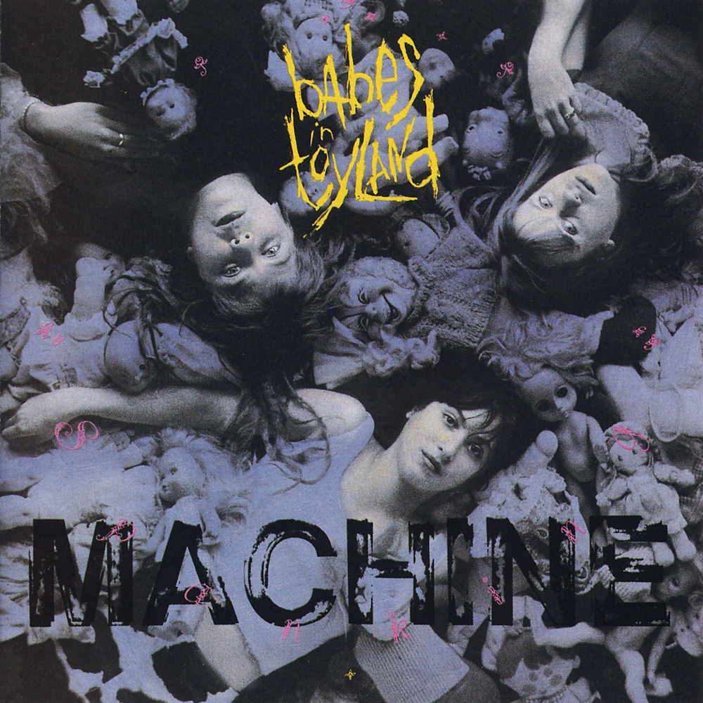 Babes in Toyland - Spanking Machine (Twin/Tone, 1990). Cover photo by Daniel Corrigan.