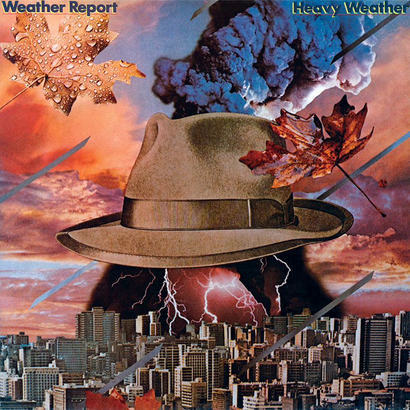 Weather Report - Heavy Weather (Columbia, 1977). Cover art by Lou Beach.