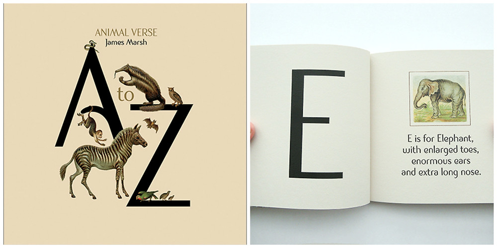 A-Z Book of Animal Verse by James Marsh