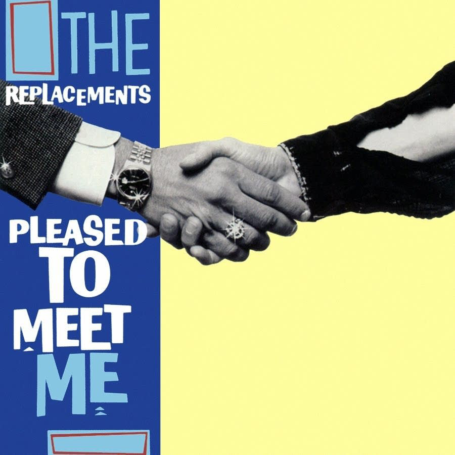 The Replacements - Pleased To Meet Me (Sire, 1987). Cover photo by Daniel Corrigan.