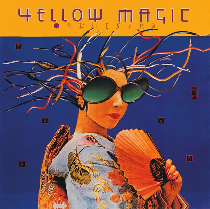 Yellow Magic Orchestra - Yellow Magic Orchestra (A&M, 1979). Cover art by Lou Beach.