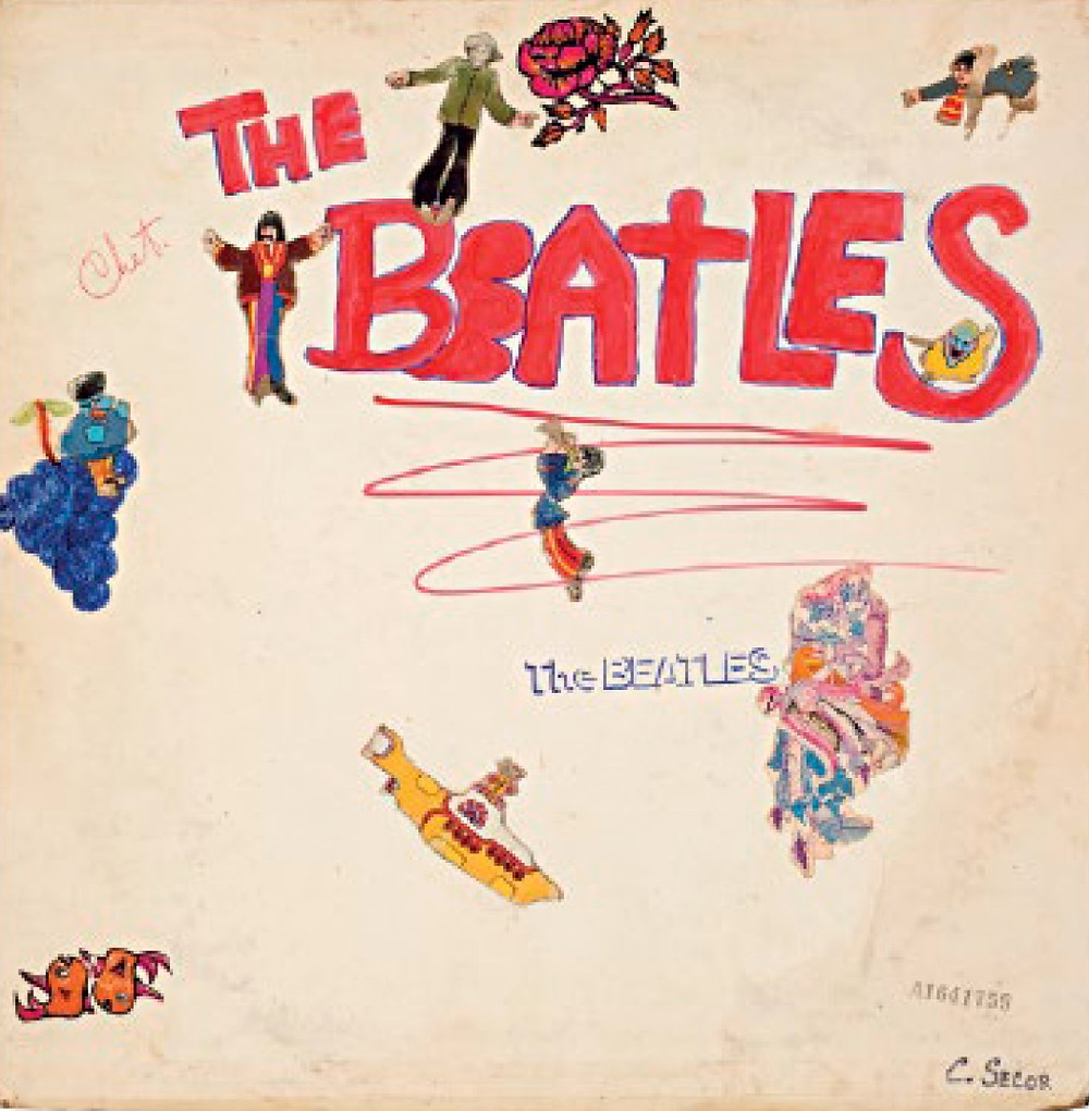 Alternative Beatles White Album DIY Cover