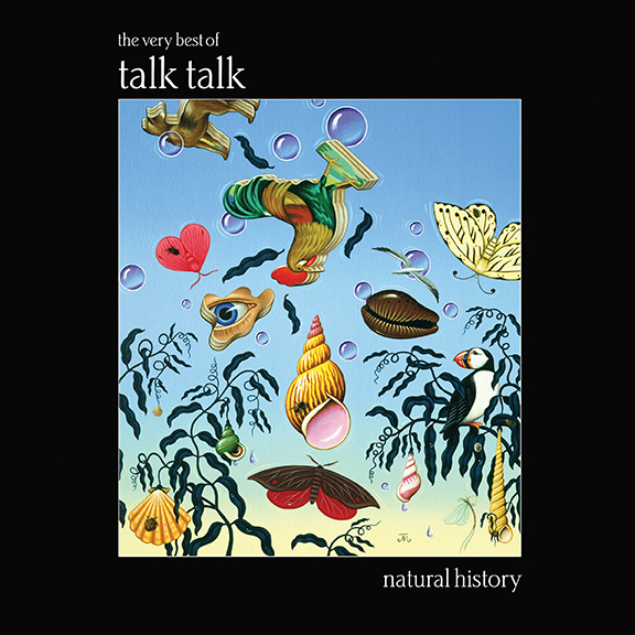 Talk Talk ‎– Natural History: The Very Best Of Talk Talk (Parlophone, 1990). Cover art by James Marsh.