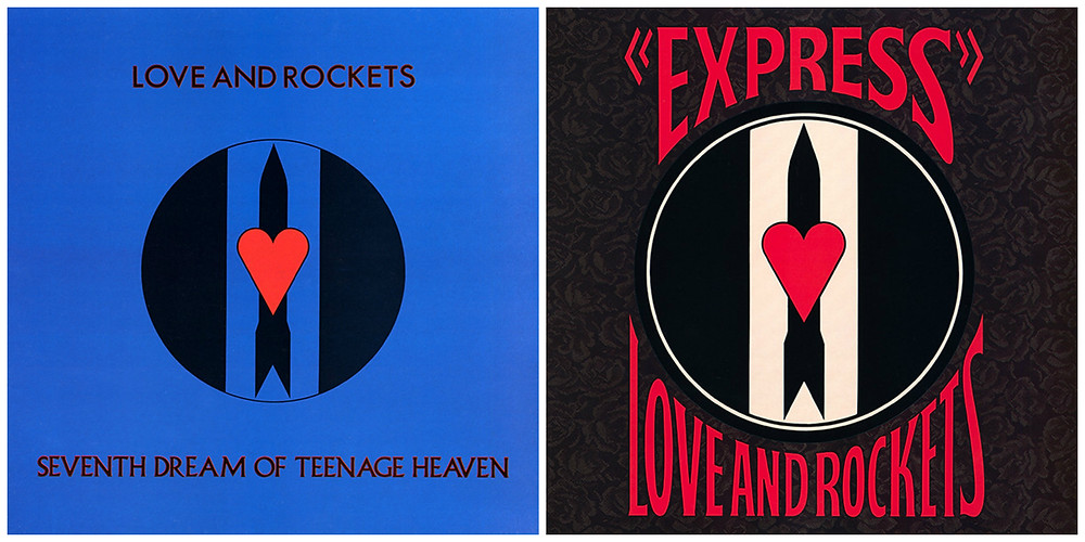Cover art for Love and Rockets - Seventh Dream of Teenage Heaven and Express.