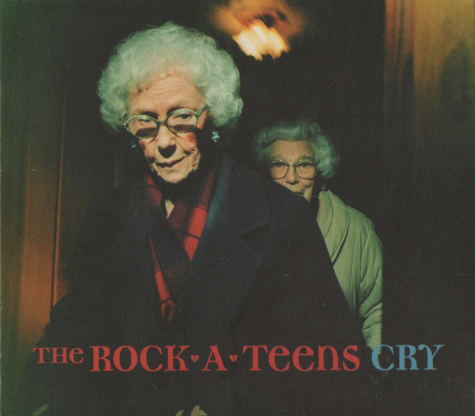 """Front cover of The Rock*A*Teens - Cry (Daemon Records, 1997)  Photo: """"Mabe and Marion"""""""