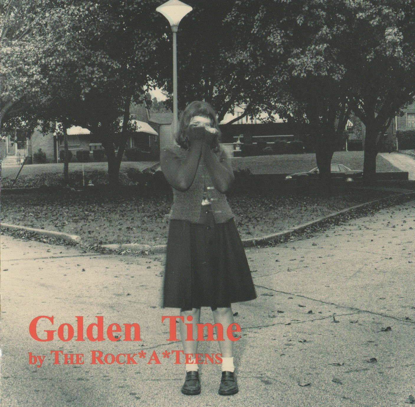 Front cover of The Rock*A*Teens - Golden Time (Merge Records, 1999)  Photo of Lisa Shinault