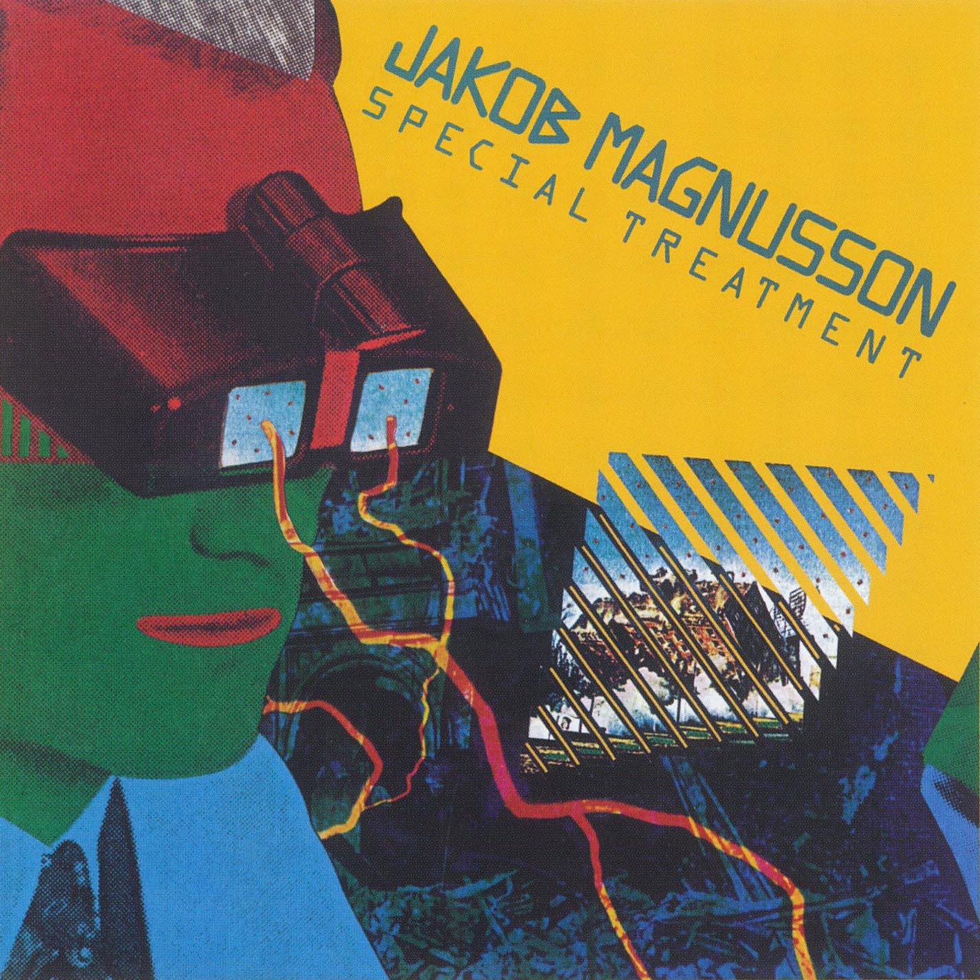 Jakob Magnusson - Special Treatment (Warner Bros., 1979). Cover art by Lou Beach.