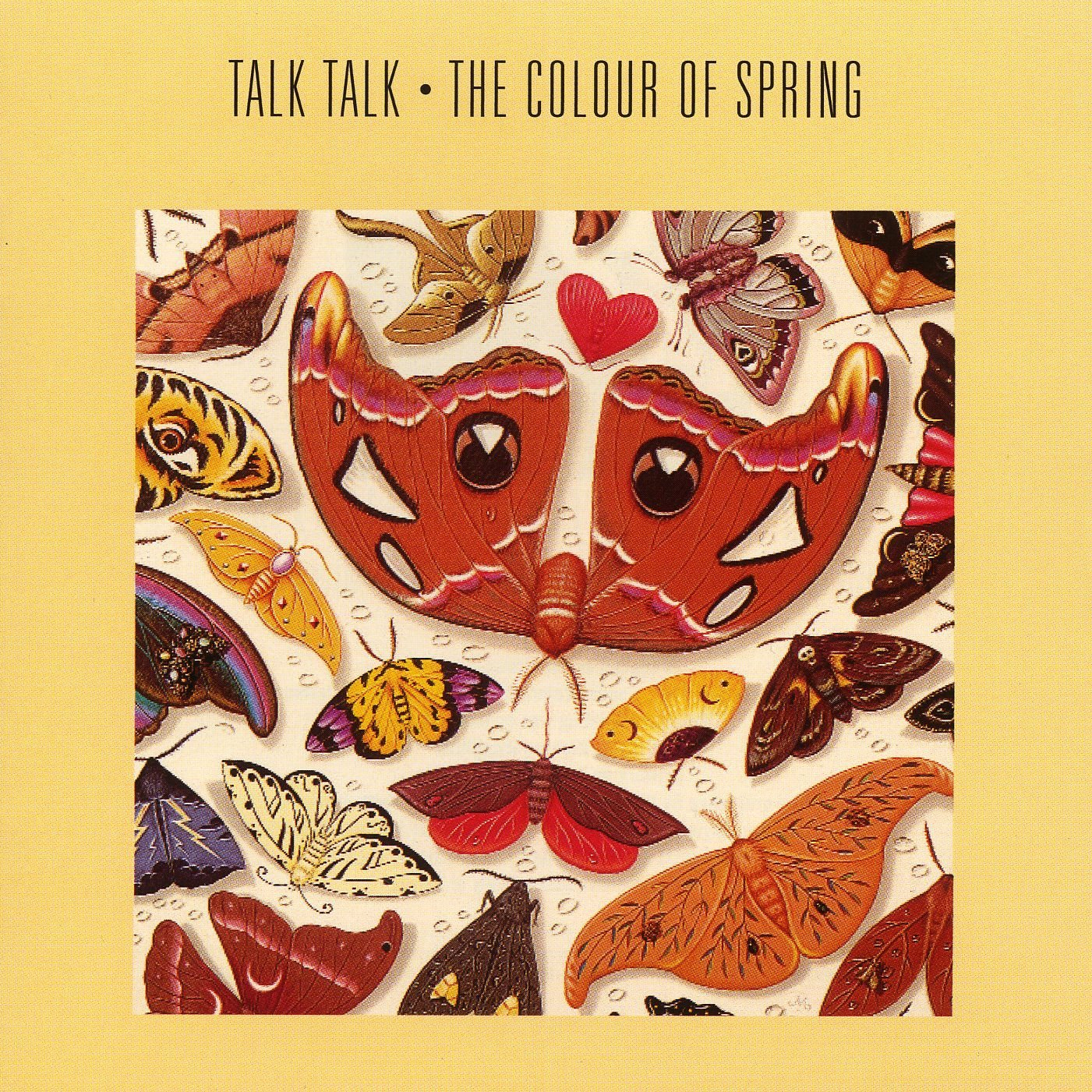 Talk Talk ‎– The Colour Of Spring (EMI, 1986). Cover art by James Marsh.