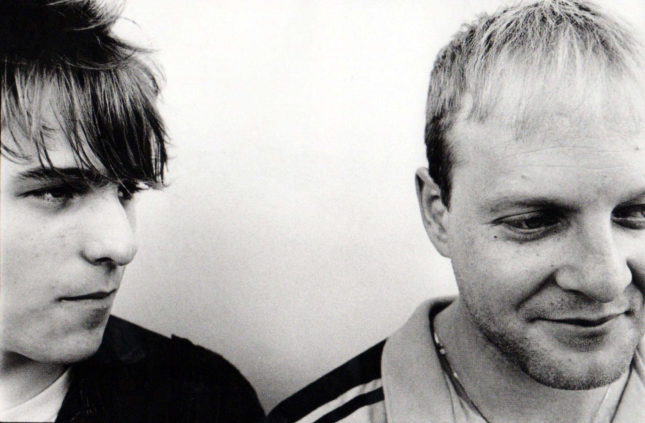 Bob and Tommy Stinson, 1983. Photo by Daniel Corrigan.