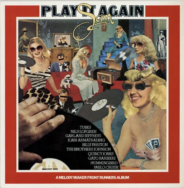 Various Artists - Play It Again Sam (A&M, 1977). Cover art by Lou Beach.
