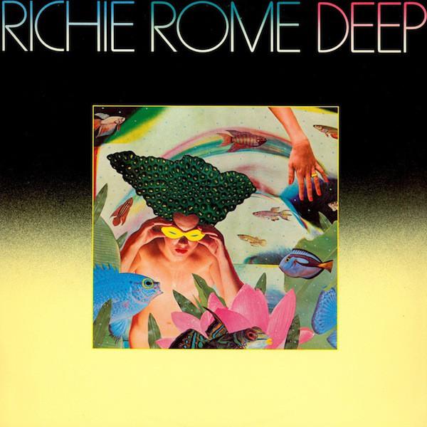 Richie Rome - Deep (Elektra, 1980). Cover art by Lou Beach.