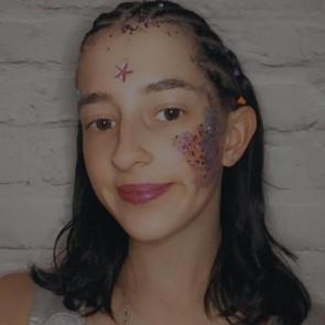 Courtney full glitter