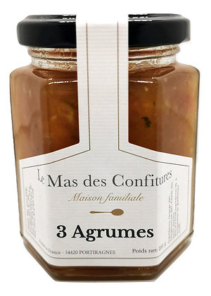Confiture - 3 agrumes