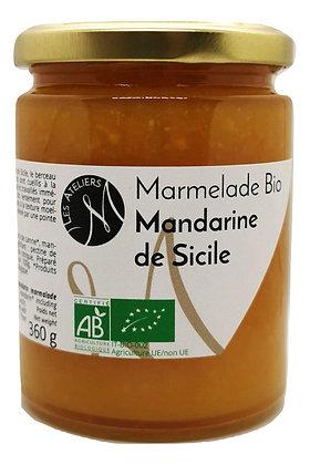 Marmelade Bio de Mandarine de Sicile