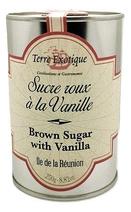 Sucre roux à la Vanille