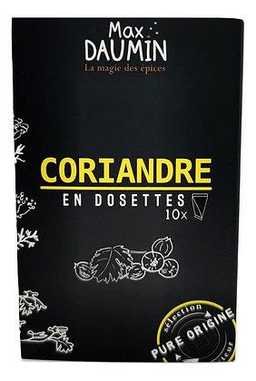 Coriandre en dosettes
