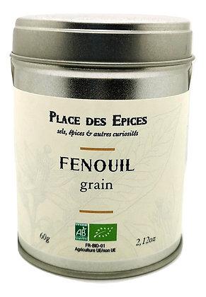 Fenouil en grains Bio