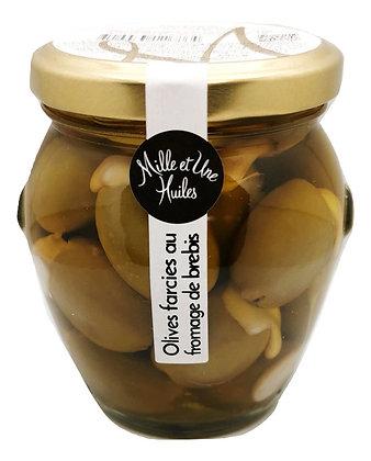Olives farcies au fromage de brebis