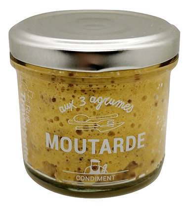 Moutarde aux 3 agrumes