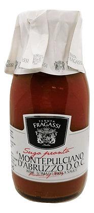 Sauce tomate au vin Montepulciano
