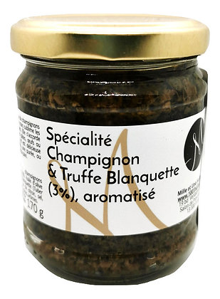 Sauce champignons et truffe blanquette