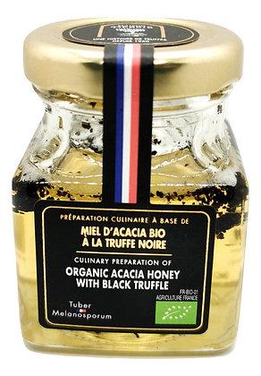 Miel d'Acacia BIO à la truffe noire