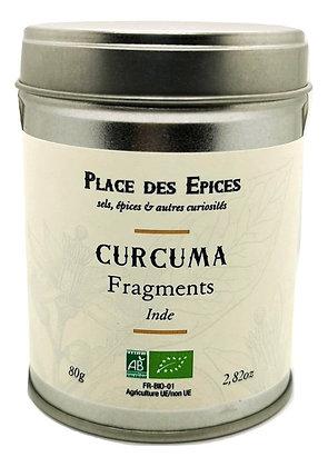 Curcuma en fragments Bio