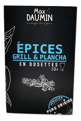 Epices Grill & Plancha en dosettes