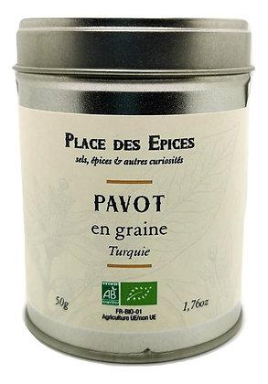 Pavot en graines Bio