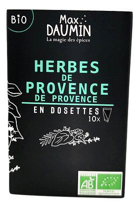 Herbes de Provence Bio en dosettes