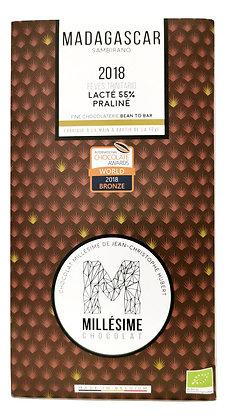 Chocolat au lait - Praliné 55%