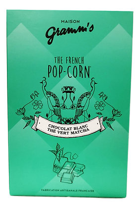 Pop-corn Caramel beurre salé et Thé vert Matcha